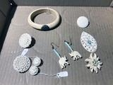 Group Lot assorted Jewelry Including Ivory