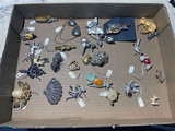Group lot of assorted costume jewelry pieces