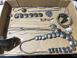 Group lot of assorted Jewelry including Sterling Silver