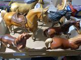 Group lot of vintage Breyer horses