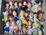 Group lot of Strawberry Shortcake dolls
