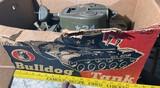 Vintage Bulldog Toy Tank in Box