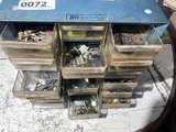 Sorter bin of assorted watch parts etc