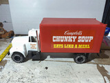 Vintage plastic Campbell's Chunky Soup delivery truck