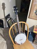 Vintage Four String Banjo in Nice Shape