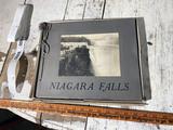 Antique souvenir printed photo album of Niagara Falls