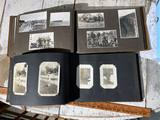 2 Nice Full Antique Snapshot photo albums