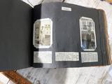 Antique Iowa college photo album/scrapbook