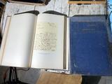 2 Volumes Universal Classic Manuscripts Books