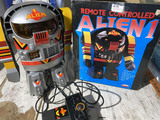 1980s Large Sized Remote Controlled Alien 1 Toy Robot