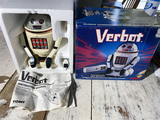 Vintage 1980s Robot Toy Verbot in Box Working