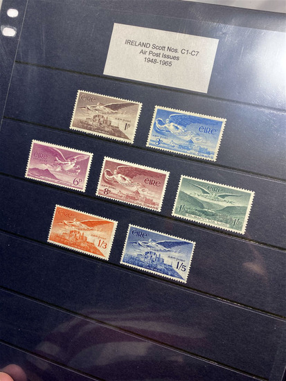 Very Large Single Owner Stamp Collection