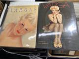 2 nice hardcover books on Alberto Vargas