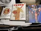 3 Books on vintage pinup art