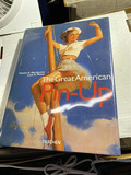 Hardcover book - the great American Pin Up