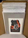 Very large lot printing samples, ad ephemera and more