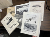 Group lot nice antique car advertising pieces