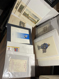 Group lot of assorted antique and vintage menus