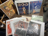 Group lot of antique sheet music with nice graphics