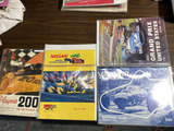 Lot of 4 vintage racing programs - Grand Prix etc