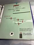 Binder lot of auto racing paper, ephemera and more.