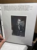 Album lot of old Jazz paper, ephemera