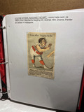 Lot of assorted 19th century trade cards and religious