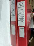2 binders of old brochures, paper - Art Deco