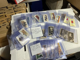 Group lot of tobacco cards