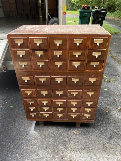 Barrister bookcases, antiques, gold, etc.