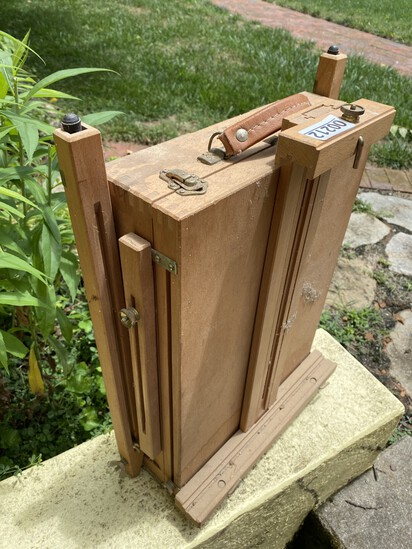 Vintage portable high-end easel by Art Master - Italy