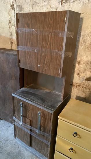 2 vintage medical cabinets