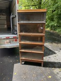5 Stack barrister bookcase with top