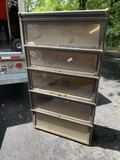 Antique 5 section barrister bookcase - Globe Wernicke