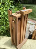 Vintage portable high-end easel by Mabef Italy