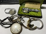 Group lot of assorted watches including Elgin