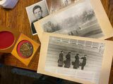 Cold War Russian photographs And Medal Lot