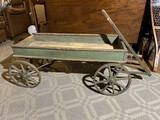 Rare 1800s Child's Wagon with original paint