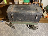 19th century wooden trunk or box