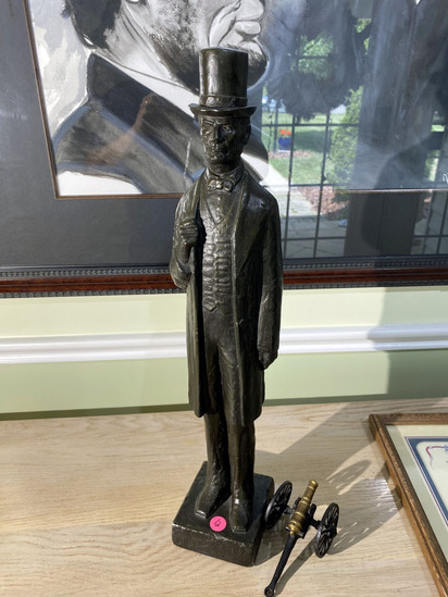 Vintage Abraham Lincoln Statue
