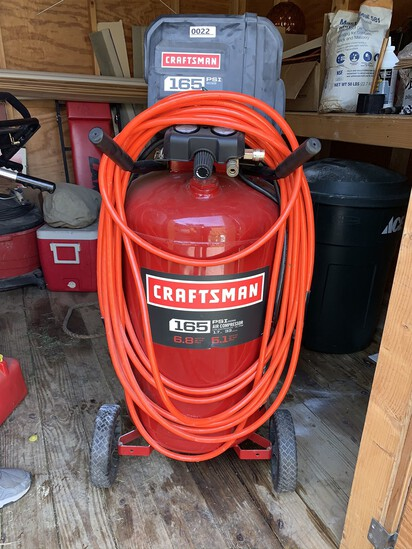 Craftsman 165 PSI Air Compressor with Airline