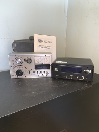 Palstar Inc & Sadelco Wattmeter