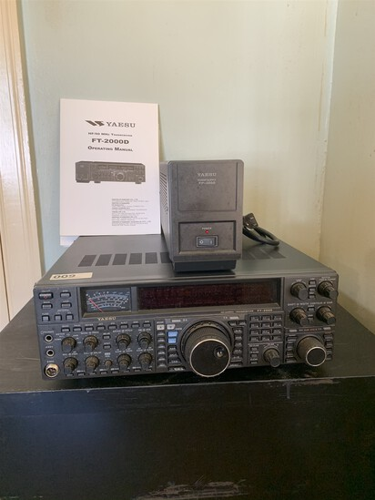 Yaesu Transceiver & Power Supply