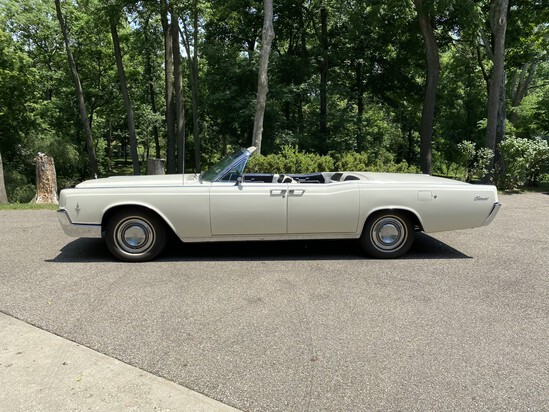 Single owner 1966 Lincoln Continental Convertible in Excellent Condition