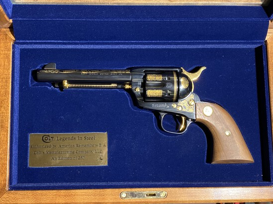 Colt Single Action Army Revolver Edition of 250 by America Remembers