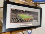Ohio State Buckeyes National Championship Game framed photo