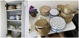 Very Large Set of Vintage Noritake Goldkin china