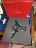 Vintage Baccarat Crystal Eagle in Box