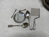 Assorted Sterling and European silver lot