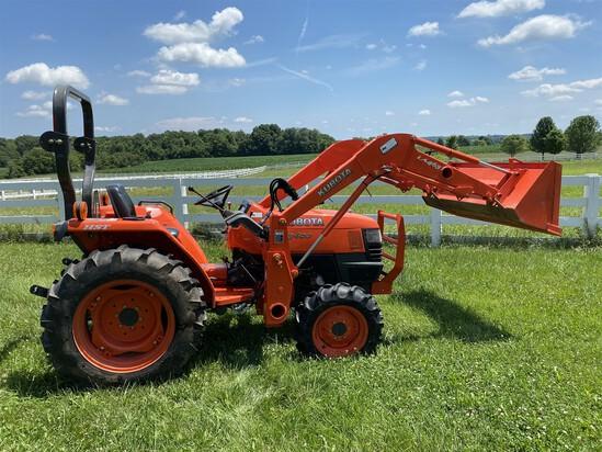 Tractors, manure spreader, farm equipment etc